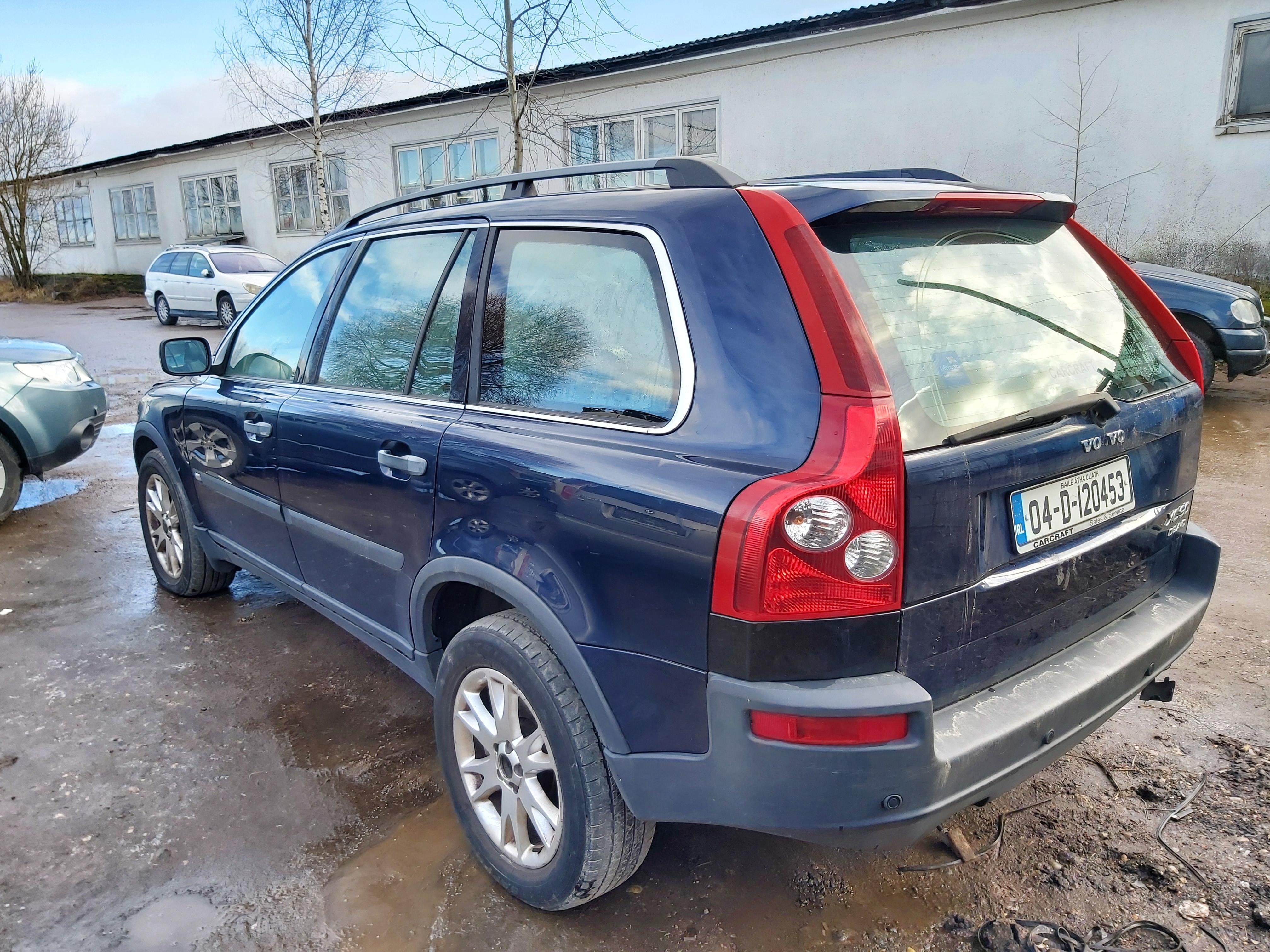 Naudotos automobiliu dallys Foto 7 Volvo XC 90 2004 2.4 Automatinė Visureigis 4/5 d. Melyna 2020-2-06 A5062
