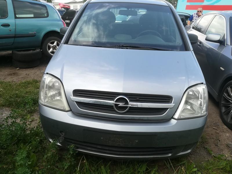 Naudotos automobilio dalys Opel MERIVA 2004 1.6 Mechaninė Hečbekas 4/5 d. Sviesiai pilka 2019-6-06