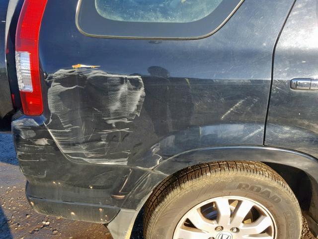 Подержанные Автозапчасти Foto 6 Honda CR-V 2005 2.2 машиностроение напрямик 4/5 d. черный 2019-2-07 A4309