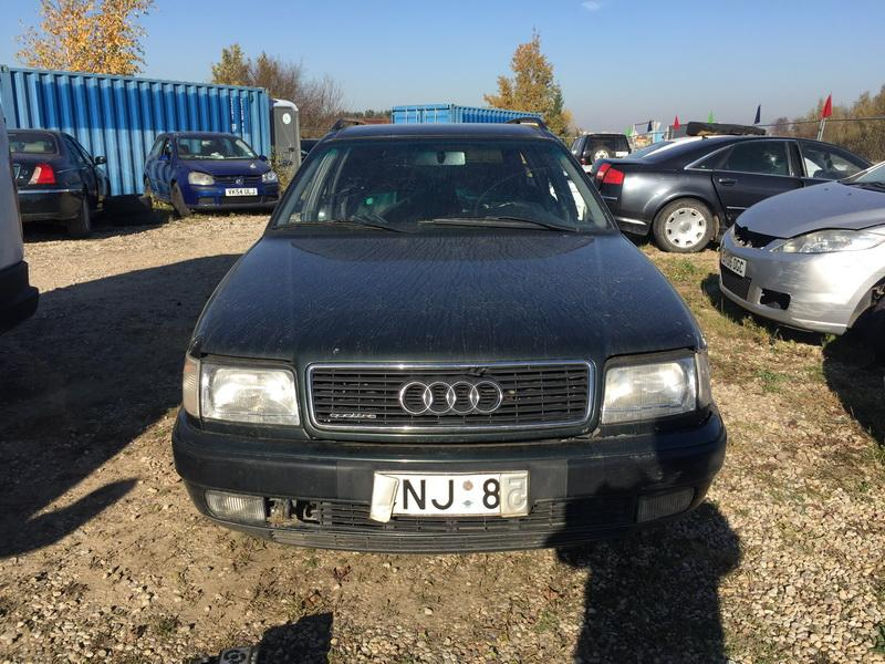 Naudotos automobilio dalys Audi 100 1993 2.0 Mechaninė Universalas 4/5 d. Zalia 2018-10-11