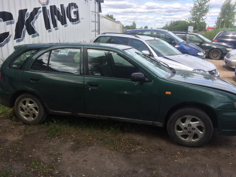 Used Car Parts Foto 4 Nissan ALMERA 1995 1.6 Mechanical Hatchback 4/5 d. Green 2018-6-13 A3864