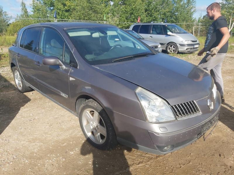 Naudotos automobilio dalys Renault VEL SATIS 2002 3.5 Mechaninė Hečbekas 4/5 d. Pilka 2020-8-24