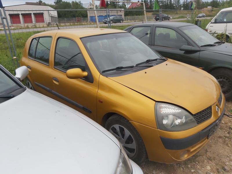 Naudotos automobilio dalys Renault CLIO 2003 1.9 Mechaninė Hečbekas 4/5 d. Geltona 2020-9-04