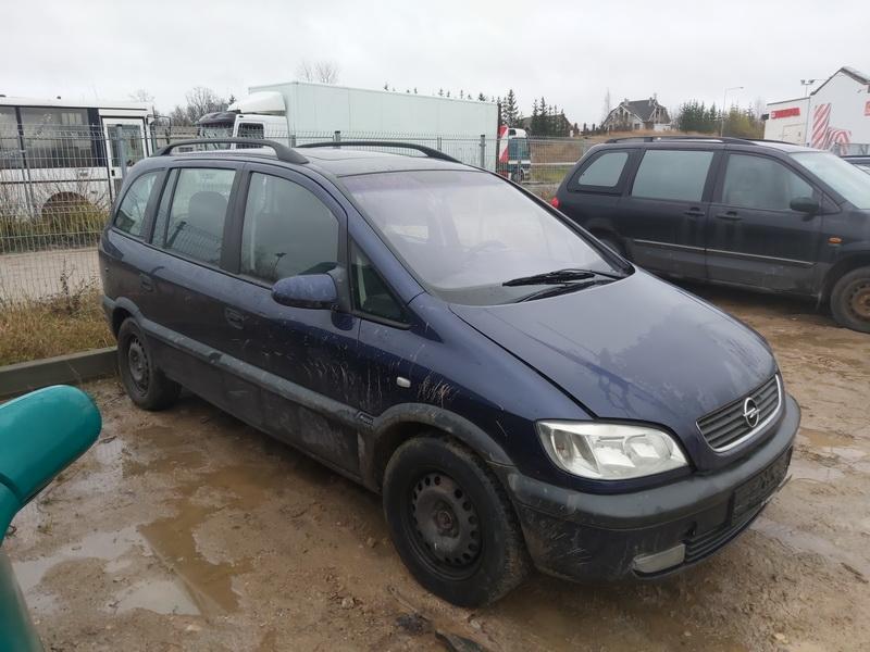 Подержанные Автозапчасти Foto 1 Opel ZAFIRA 2000 2.0 машиностроение минивэн 4/5 d. синий 2020-11-18 A5831