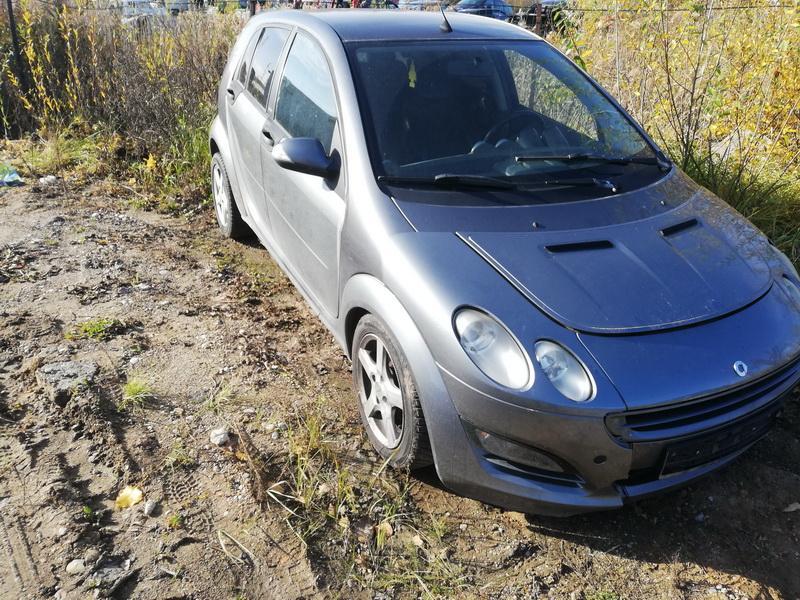 Naudotos automobiliu dallys Foto 2 Smart FORFOUR 2004 1.5 Mechaninė Hečbekas 4/5 d. Pilka 2019-10-18 A4844
