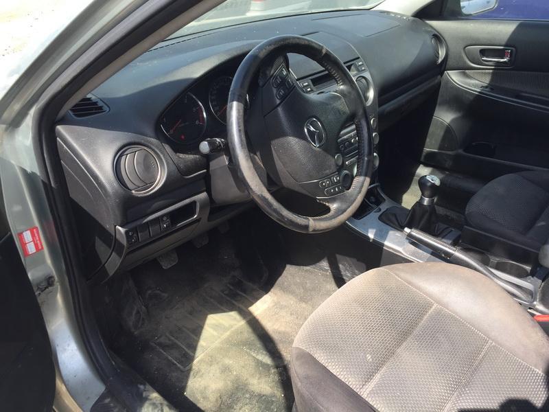 Naudotos automobiliu dallys Foto 5 Mazda 6 2004 2.0 Mechaninė Hečbekas 4/5 d. Sviesiai pilka 2018-5-14 A3752
