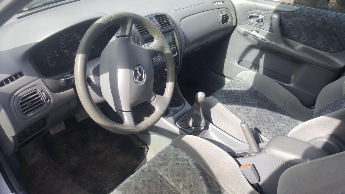 Naudotos automobilio dalys Mazda 323F 1999 2.0 Mechaninė Hečbekas 4/5 d. Sidabrine 2017-4-07