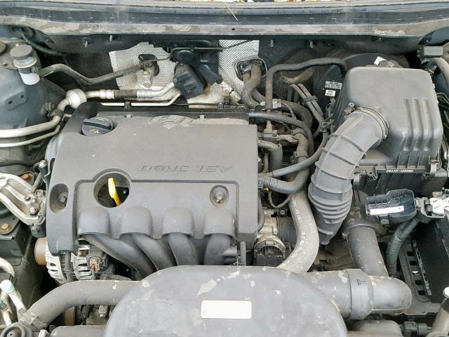 Naudotos automobilio dalys Hyundai I30 2011 1.4 Mechaninė Hečbekas 4/5 d. Pilka 2019-2-06