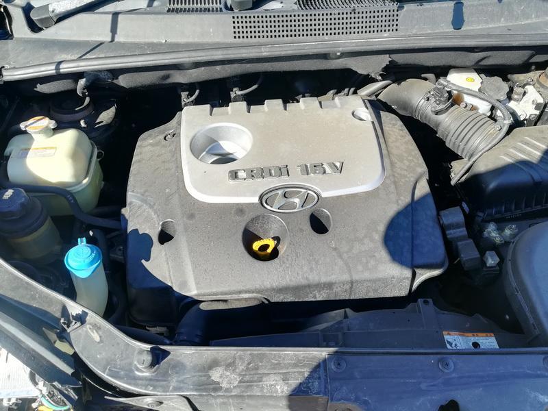 Naudotos automobiliu dallys Foto 2 Hyundai TUCSON 2005 2.0 Mechaninė Visureigis 4/5 d. Juoda 2019-3-20 A4372