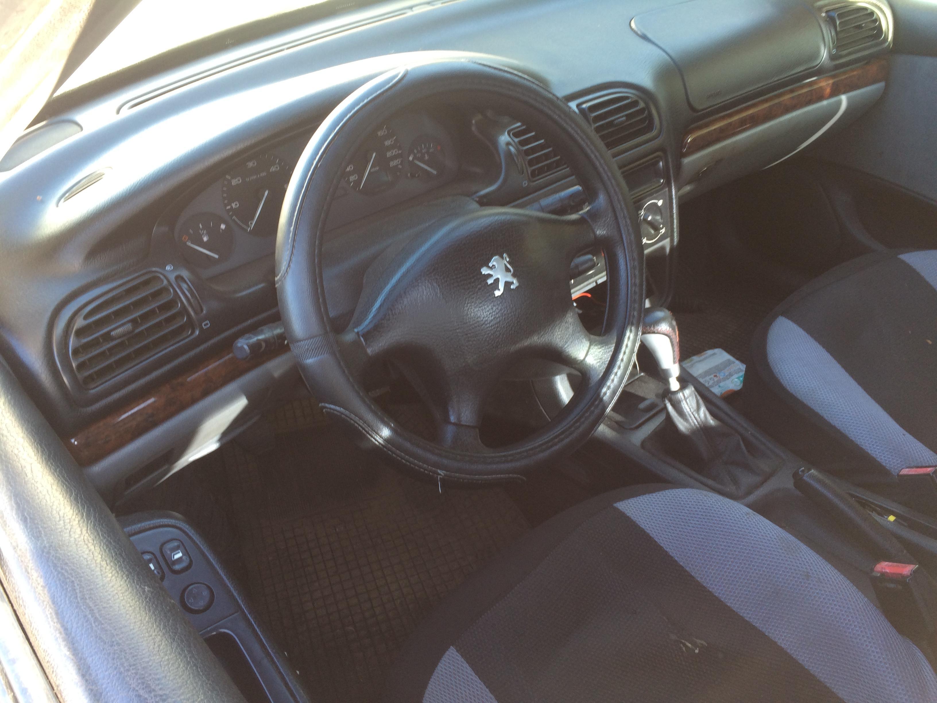 Naudotos automobiliu dallys Foto 5 Peugeot 406 1998 2.1 Mechaninė Sedanas 4/5 d. Juoda 2018-8-06 A4025