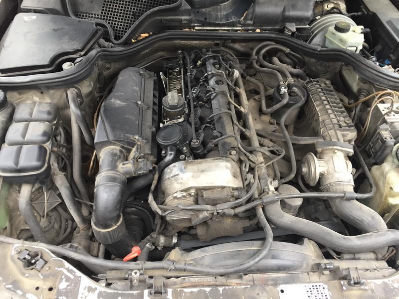 Naudotos automobiliu dallys Foto 2 Mercedes-Benz E-CLASS 1999 2.7 Mechaninė Universalas 4/5 d. Sidabrine 2018-6-12 A3856