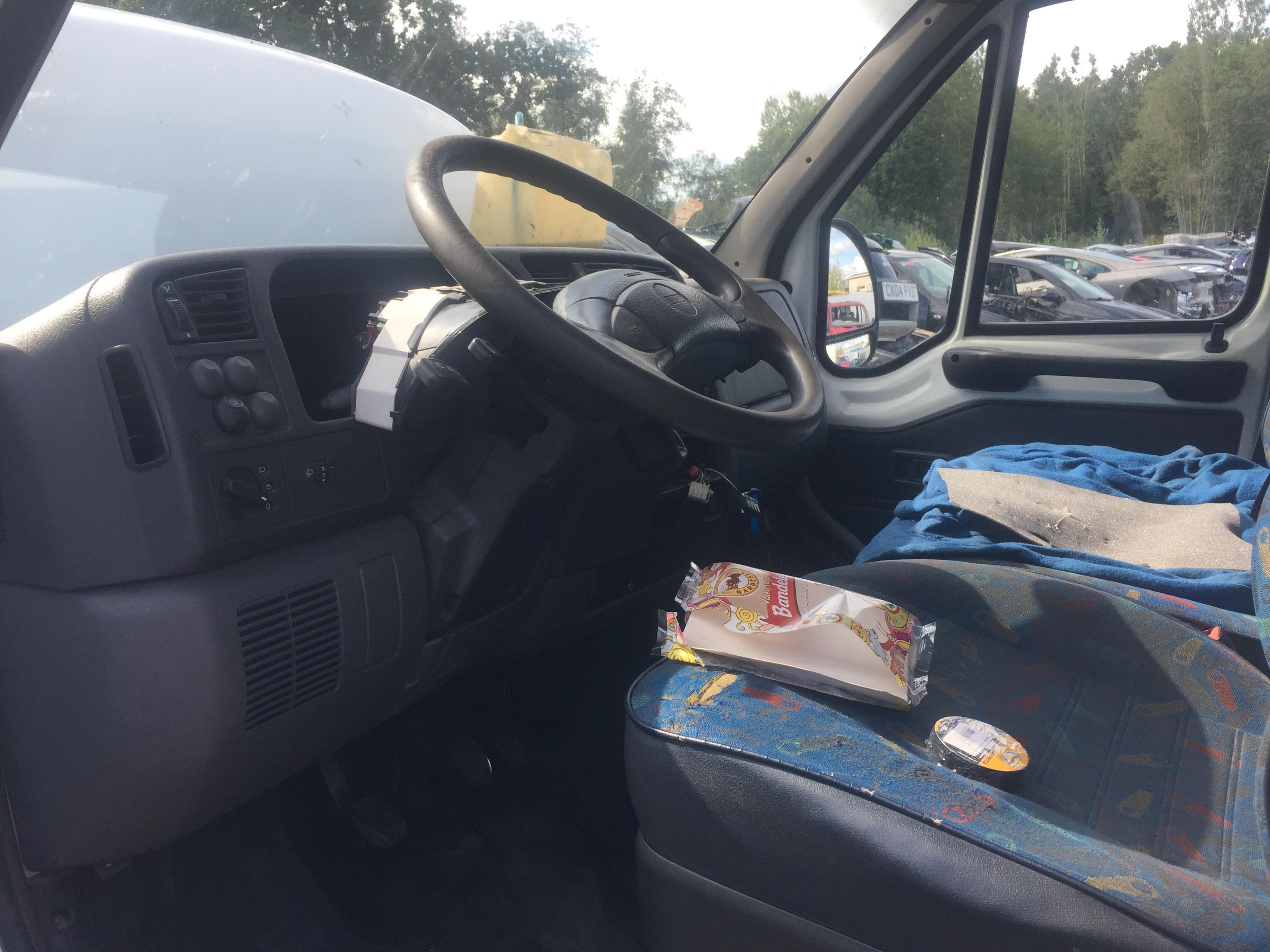 Naudotos automobiliu dallys Foto 5 Fiat DUCATO 2002 2.8 Mechaninė Krovininis mikroautobusas 4/5 d. Balta 2018-8-27 A4053