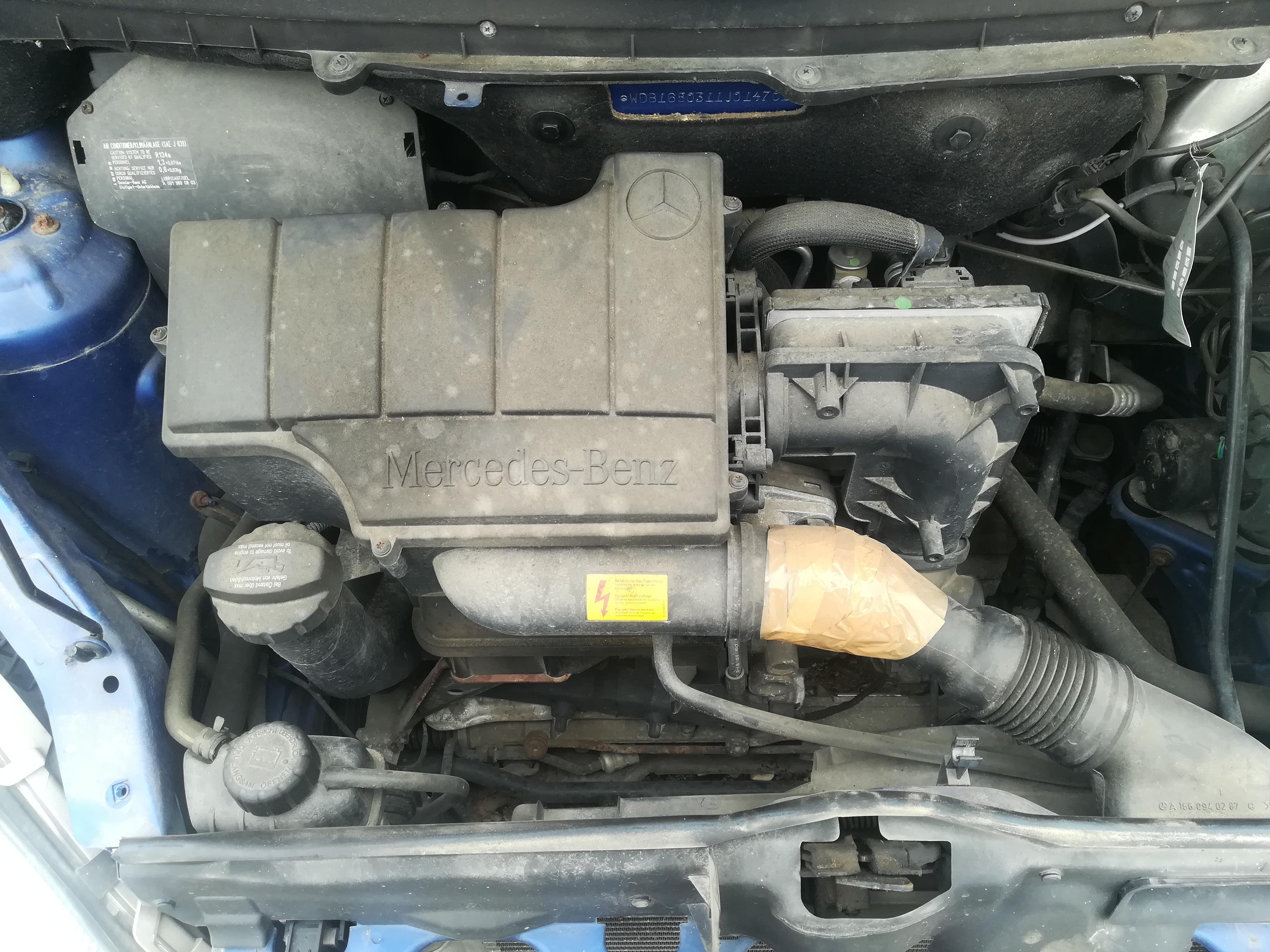Подержанные Автозапчасти Foto 2 Mercedes-Benz A-CLASS 1998 1.4 машиностроение хэтчбэк 4/5 d. синий 2019-4-11 A4416