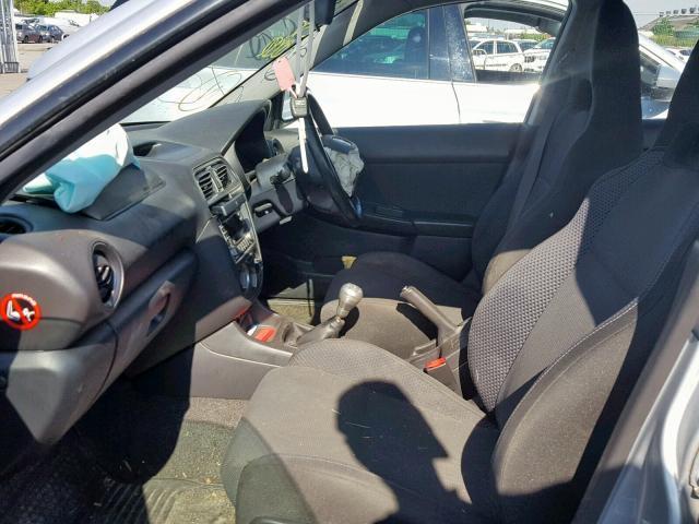 Naudotos automobiliu dallys Foto 5 Subaru IMPREZA 2004 2.0 Mechaninė Sedanas 4/5 d. Sidabrine 2019-6-11 A4559