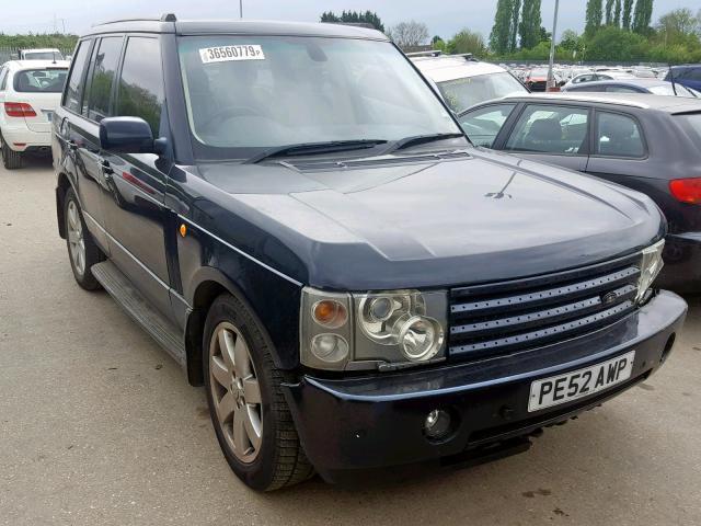 Naudotos automobilio dalys Land Rover RANGE ROVER 2002 3.0 Automatinė Visureigis 4/5 d. Melyna 2019-5-27