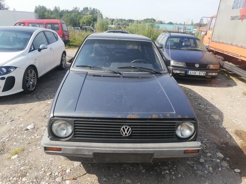 Naudotos automobilio dalys Volkswagen GOLF 1986 1.8 Automatinė Hečbekas 4/5 d. Pilka 2019-8-31