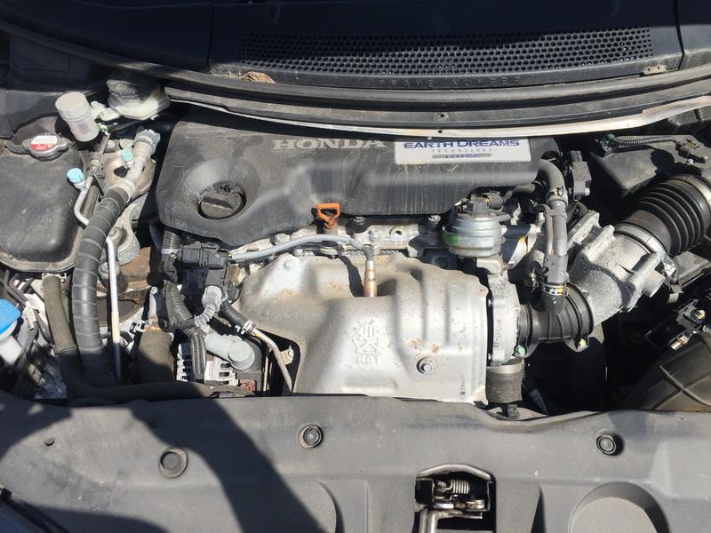Naudotos automobiliu dallys Foto 2 Honda CIVIC 2014 1.6 Mechaninė Hečbekas 4/5 d. Ruda 2018-5-16 A3760