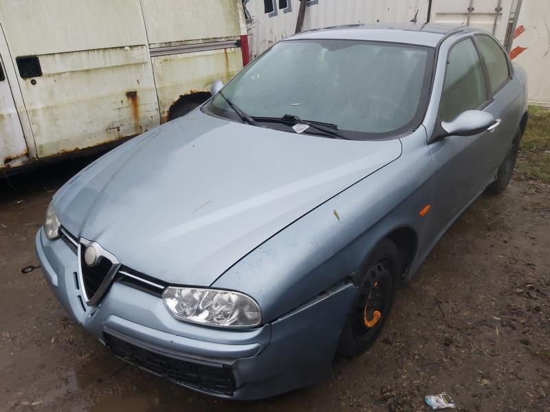 Подержанные Автозапчасти Foto 3 Alfa-Romeo 156 2002 1.9 машиностроение седан 4/5 d. синий 2020-11-18 A5832
