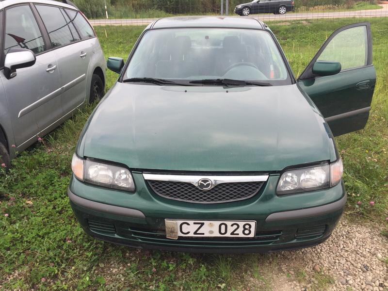 Naudotos automobilio dalys Mazda 626 1997 1.8 Mechaninė Hečbekas 4/5 d. Zalia 2018-8-29