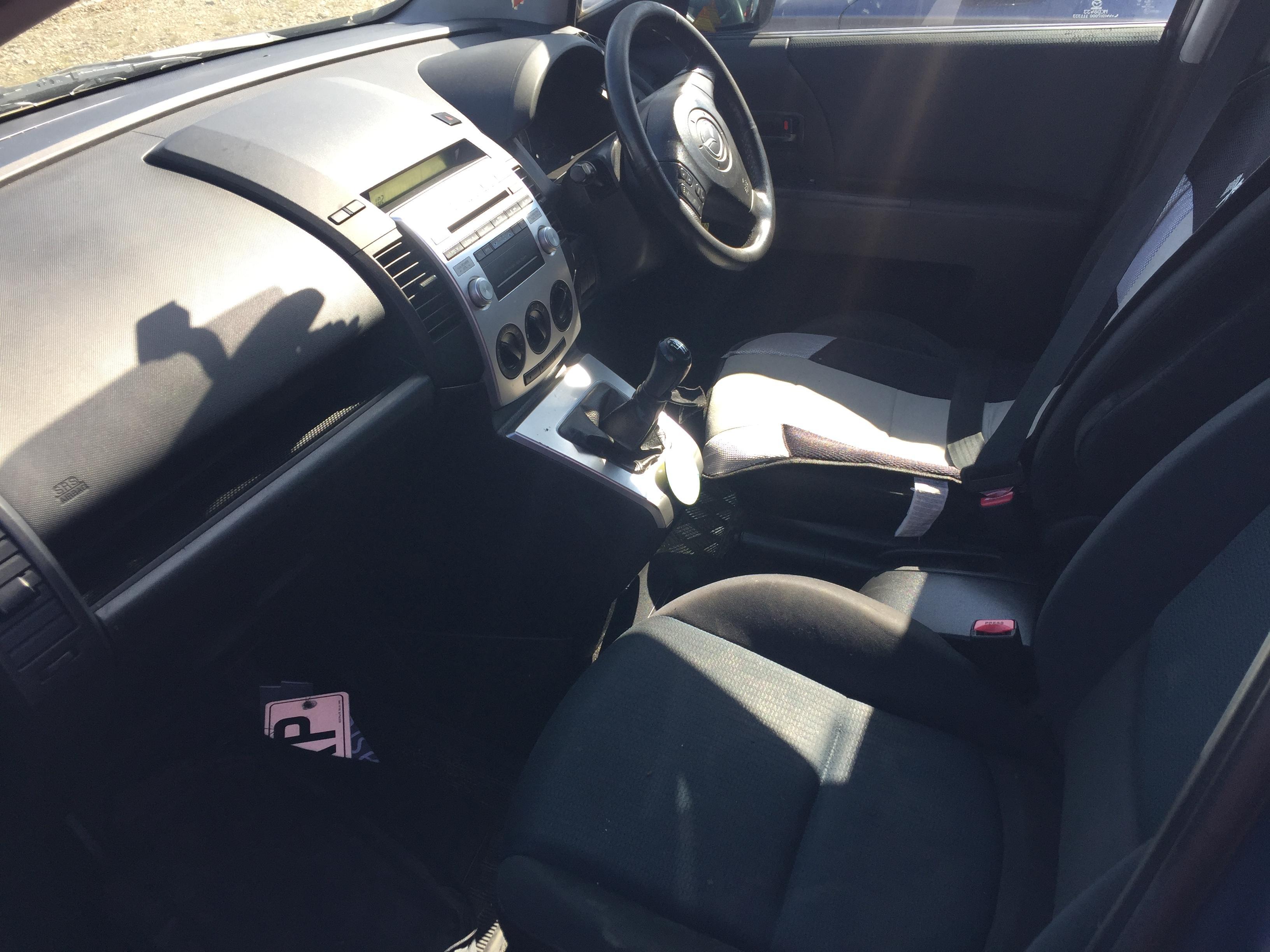 Naudotos automobilio dalys Mazda 5 2007 2.0 Mechaninė Vienatūris 4/5 d. Pilka 2017-8-30