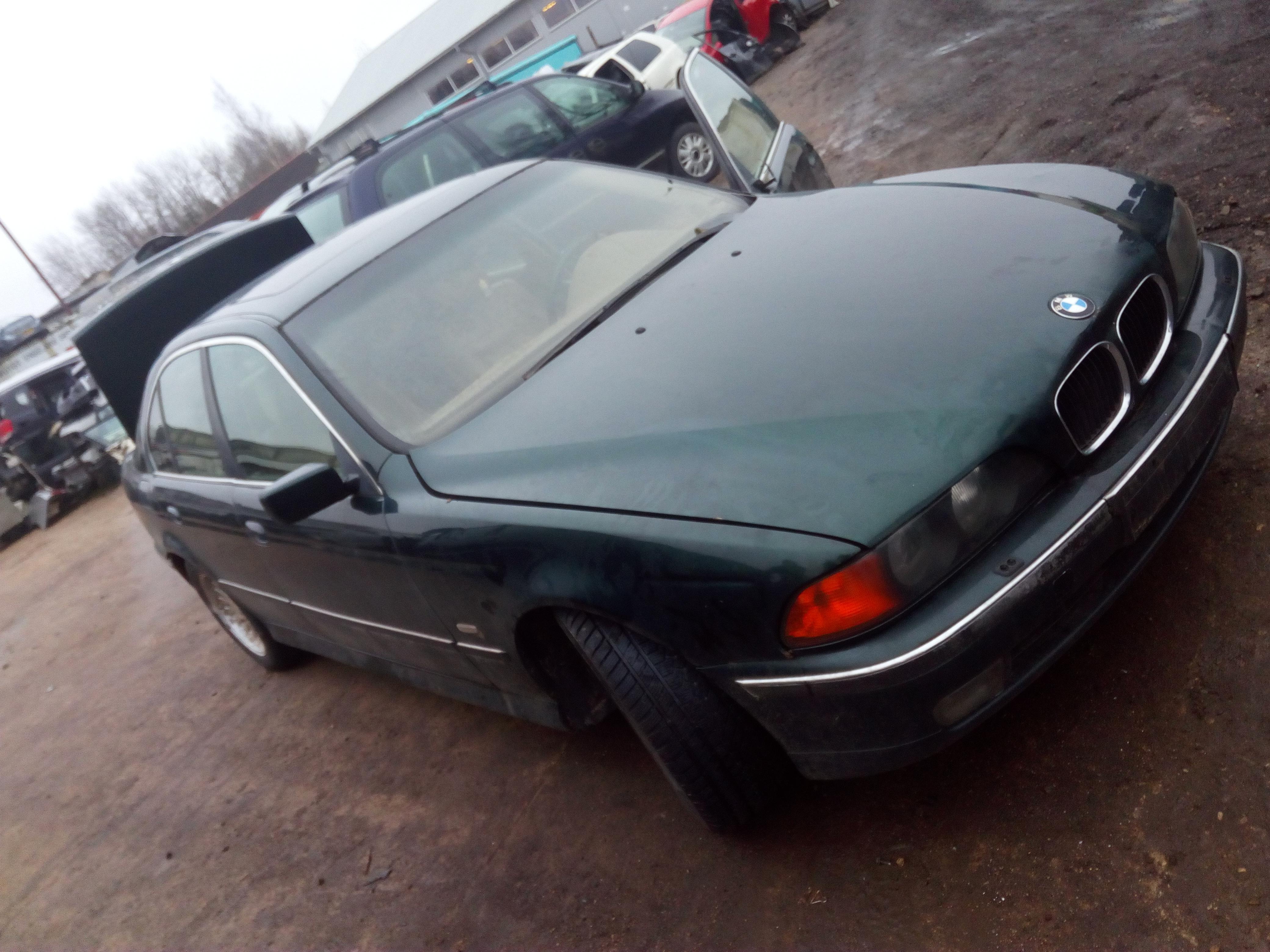 Naudotos automobiliu dallys Foto 3 BMW 5-SERIES 1997 2.5 Mechaninė Sedanas 4/5 d. Zalia 2018-1-03 A3578