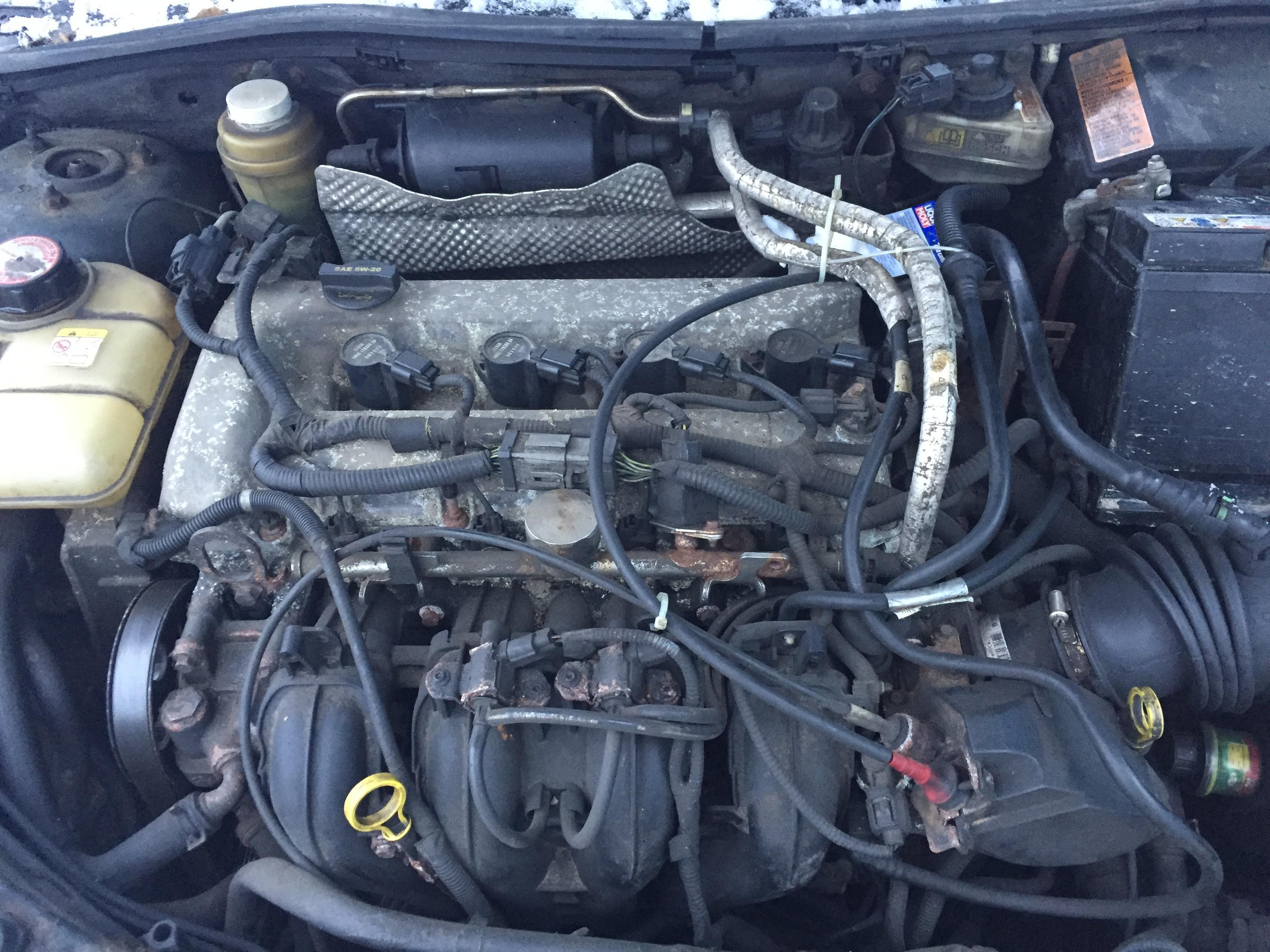 Naudotos automobiliu dallys Foto 3 Ford FOCUS 2003 2.3 Automatinė Sedanas 4/5 d. Juoda 2017-12-20 A3566