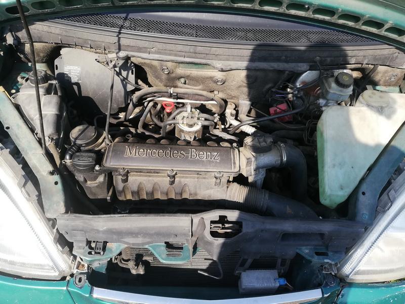 Naudotos automobiliu dallys Foto 2 Mercedes-Benz A-CLASS 2000 1.7 Automatinė Hečbekas 4/5 d. Zalia 2019-9-09 A4740