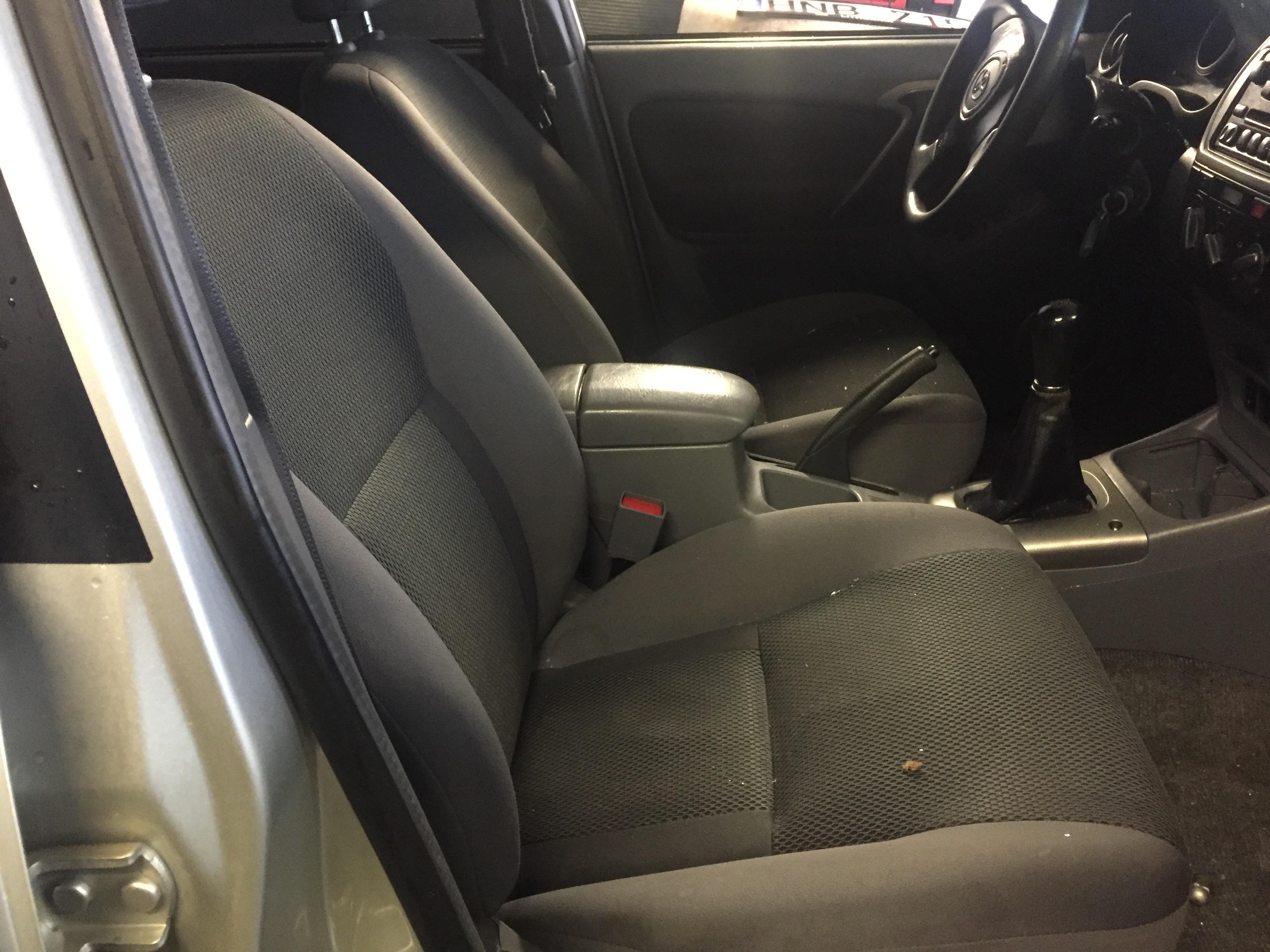 Naudotos automobiliu dallys Foto 5 Toyota RAV-4 2002 1.8 Mechaninė Visureigis 4/5 d. Ruda 2019-1-17 A4261