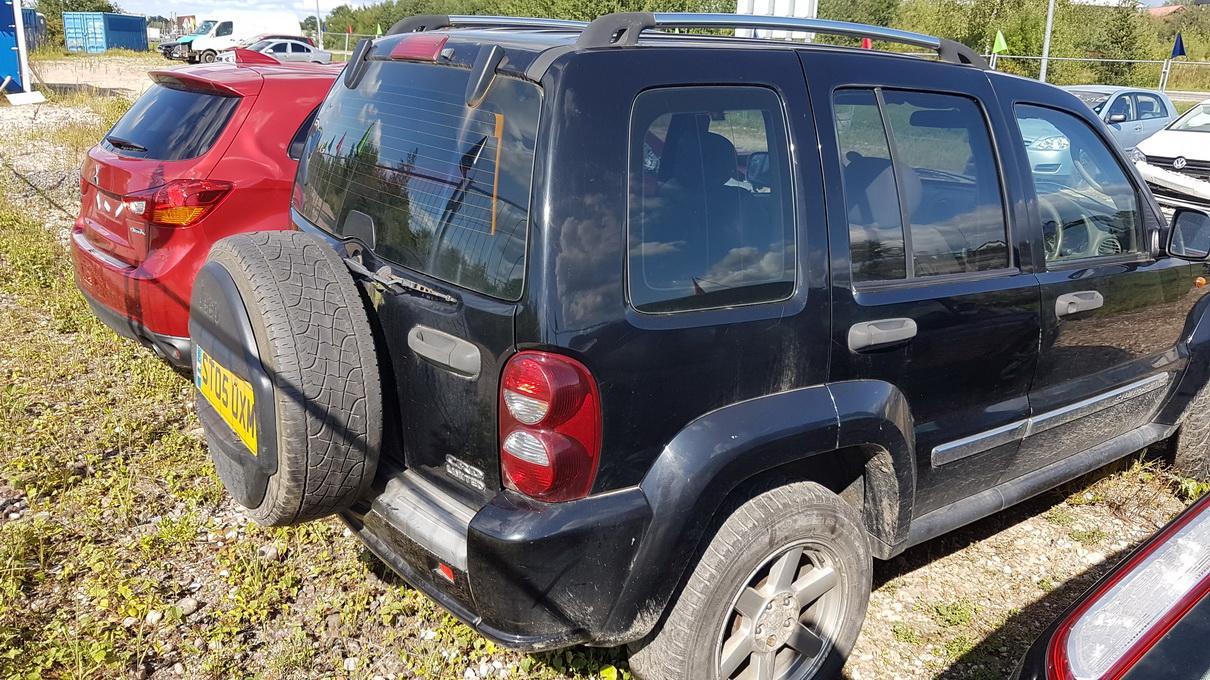Naudotos automobilio dalys Jeep CHEROKEE 2005 2.8 Automatinė Visureigis 4/5 d. Juoda 2017-8-15