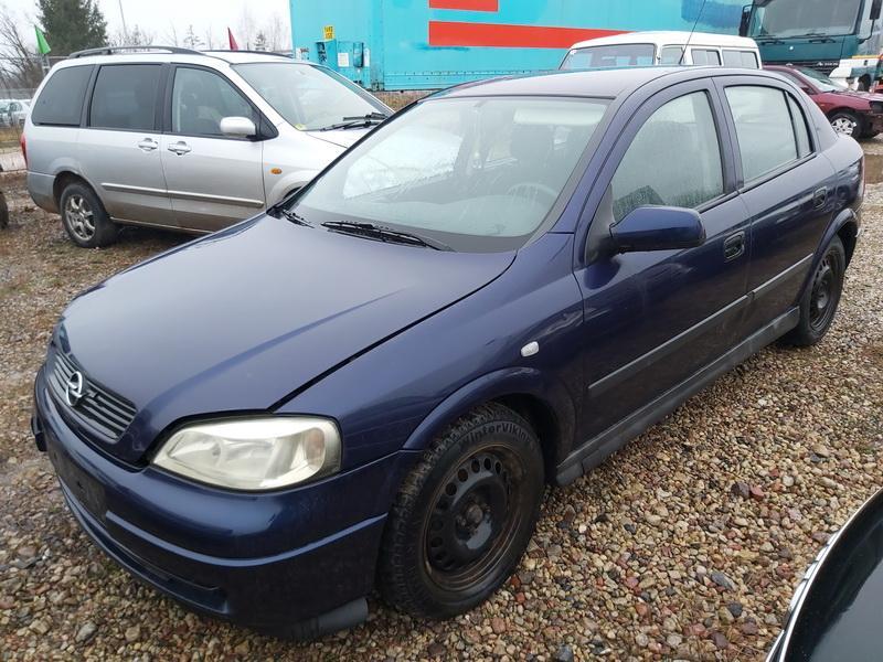 Naudotos automobiliu dallys Foto 3 Opel ASTRA 1999 1.7 Mechaninė Hečbekas 4/5 d. Melyna 2020-1-10 A5000