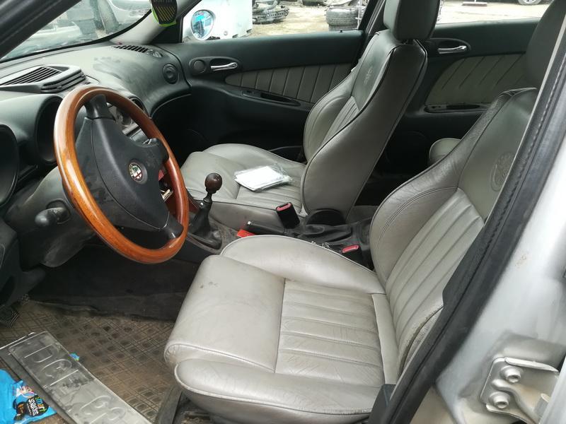 Naudotos automobiliu dallys Foto 5 Alfa-Romeo 156 1998 2.4 Mechaninė Sedanas 4/5 d. Pilka 2019-5-24 A4511