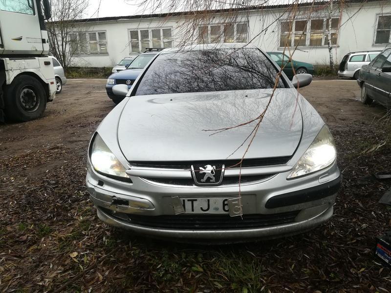 Peugeot 607 2003 2.2 Mechaninė