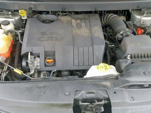 Naudotos automobiliu dallys Foto 5 Dodge JOURNEY 2010 2.0 Mechaninė Vienatūris 4/5 d. Sidabrine 2019-3-20 A4376