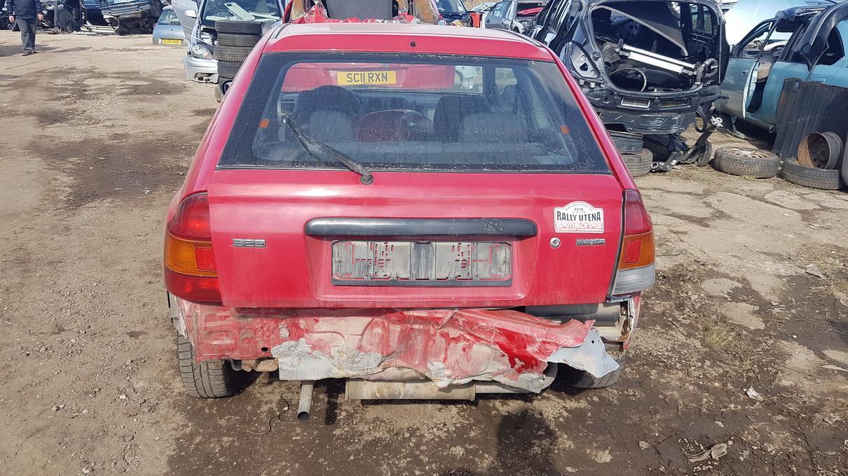 Naudotos automobilio dalys Mazda 323 1996 1.3 Mechaninė Hečbekas 2/3 d. Raudona 2017-4-20