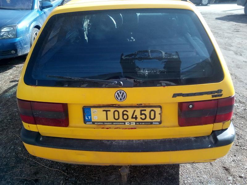 Naudotos automobilio dalys Volkswagen PASSAT 1995 1.9 Mechaninė Universalas 4/5 d. Geltona 2018-3-28