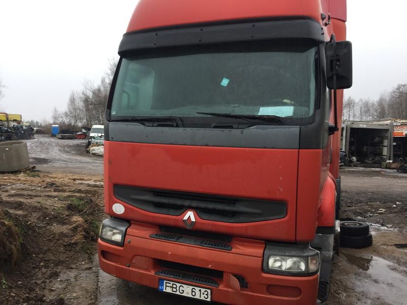 Подержанные Автозапчасти Foto 1 Truck - Renault PREMIUM 2001 11.1 машиностроение Vilkikas 2/3 d. красный 2018-12-11 A4230