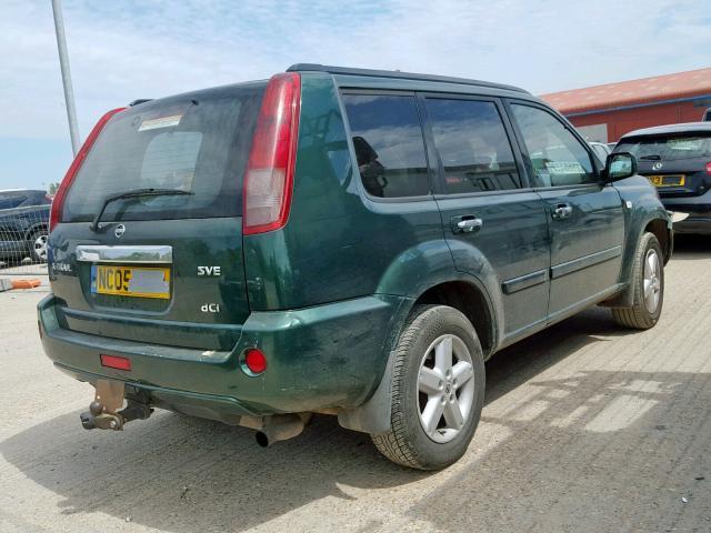 Naudotos automobiliu dallys Foto 3 Nissan X-TRAIL 2005 2.2 Mechaninė Visureigis 4/5 d. Zalia 2019-7-25 A4651