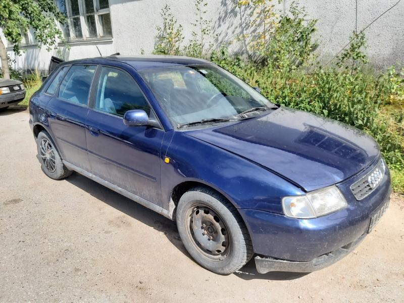Подержанные Автозапчасти Audi A3 1999 1.9 машиностроение хэтчбэк 4/5 d. синий 2020-6-30