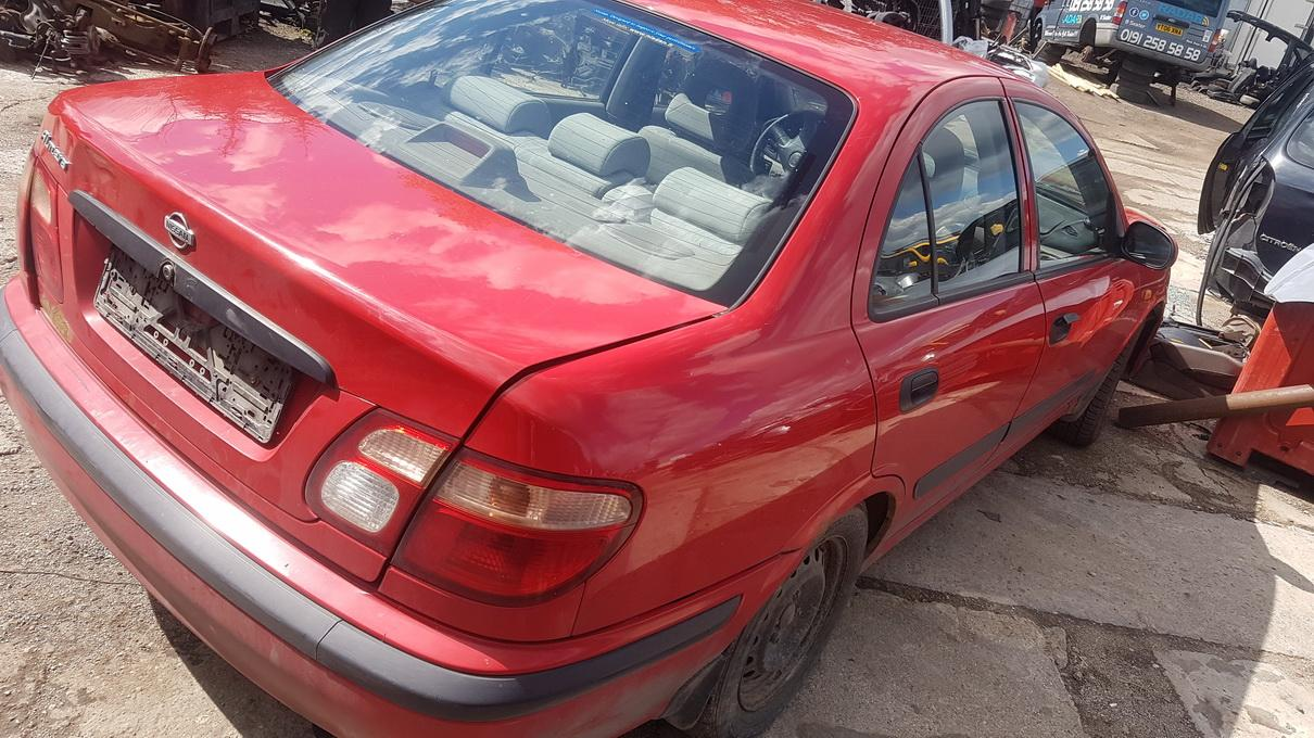 Used Car Parts Foto 6 Nissan ALMERA 2000 2.0 Mechanical Sedan 4/5 d. Red 2017-7-14 A3353