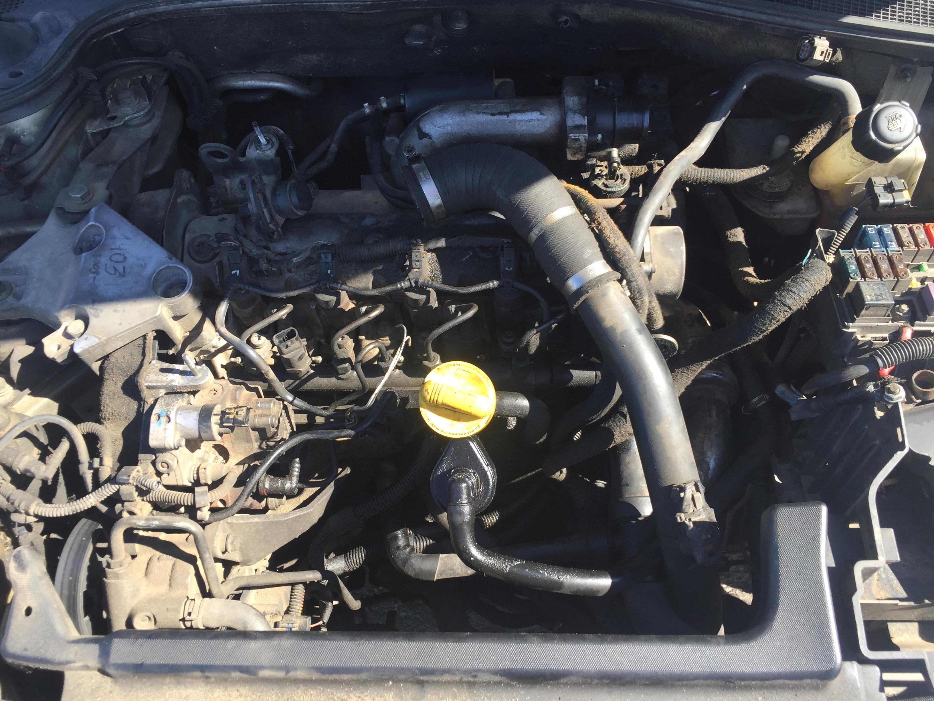 Renault LAGUNA 2001 1.9 машиностроение