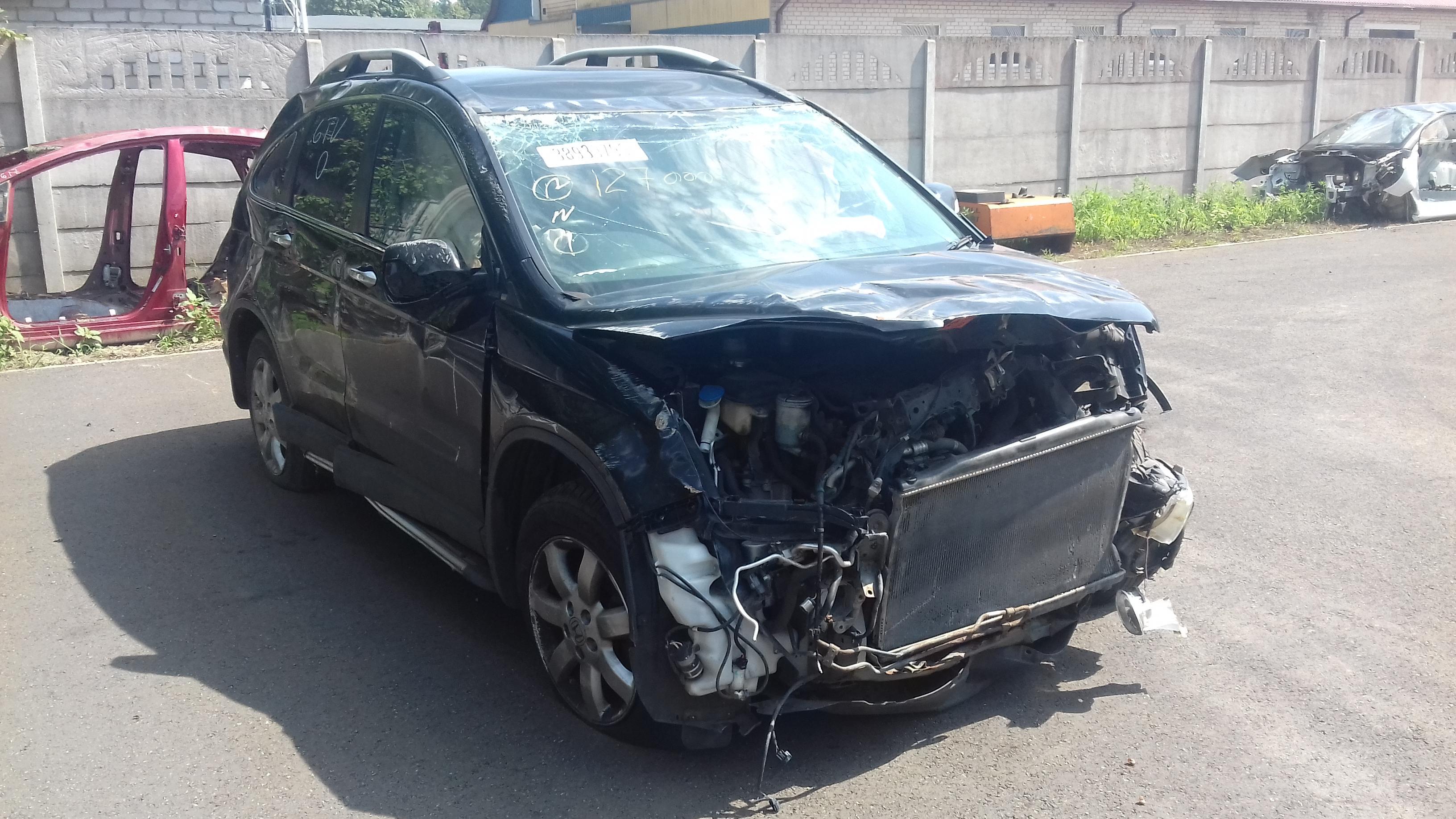 Naudotos automobilio dalys Honda CR-V 2009 2.2 Mechaninė Visureigis 4/5 d. Juoda 2019-7-31