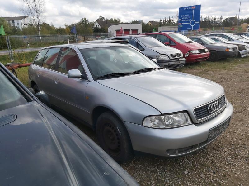 Naudotos automobilio dalys Audi A4 1998 2.5 Mechaninė Universalas 4/5 d. Pilka 2020-10-05
