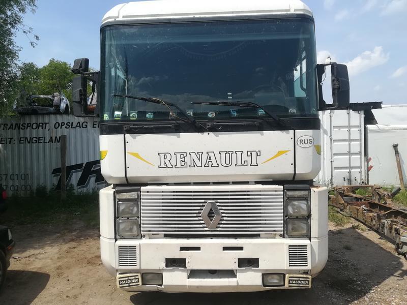 Naudotos automobilio dalys Truck - Renault MAGNUM 1995 12.0 Mechaninė Vilkikas 2/3 d. Balta 2019-6-11
