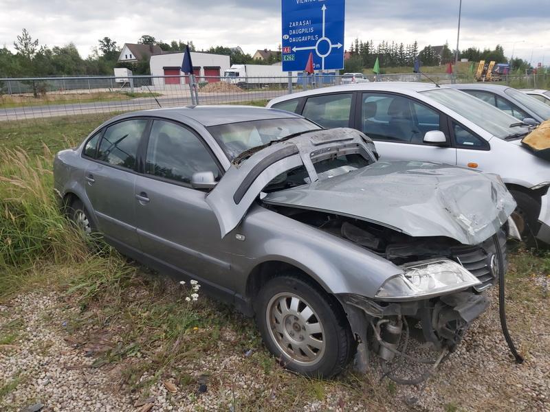 Naudotos automobilio dalys Volkswagen PASSAT 2003 1.9 Mechaninė Sedanas 4/5 d. Pilka 2020-8-14