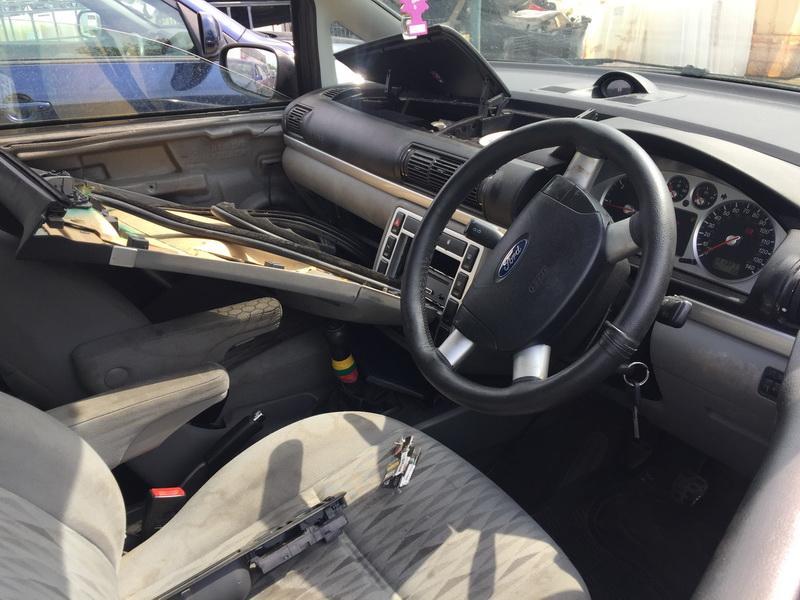 Naudotos automobilio dalys Ford GALAXY 2001 1.9 Mechaninė Vienatūris 4/5 d. Sidabrine 2018-6-11
