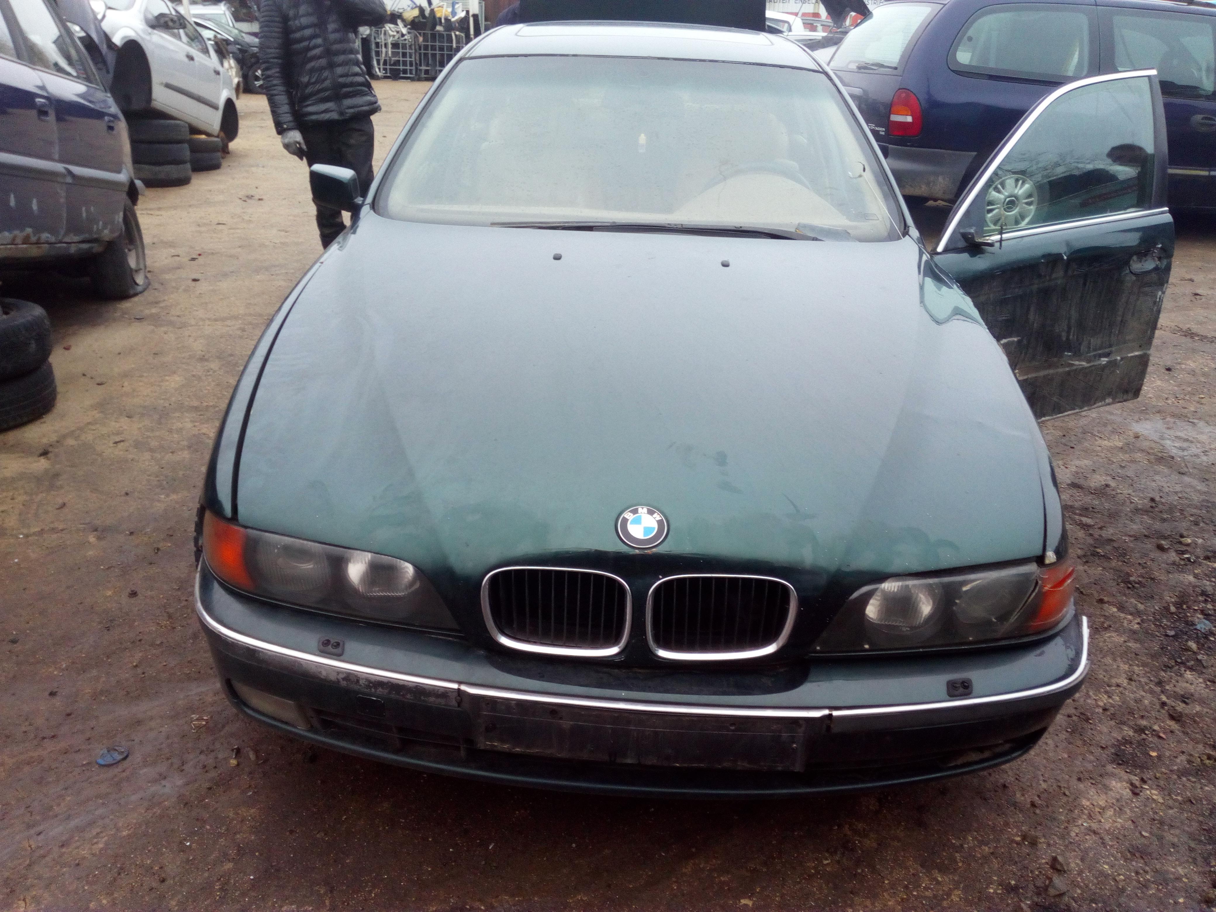 Naudotos automobiliu dallys Foto 2 BMW 5-SERIES 1997 2.5 Mechaninė Sedanas 4/5 d. Zalia 2018-1-03 A3578