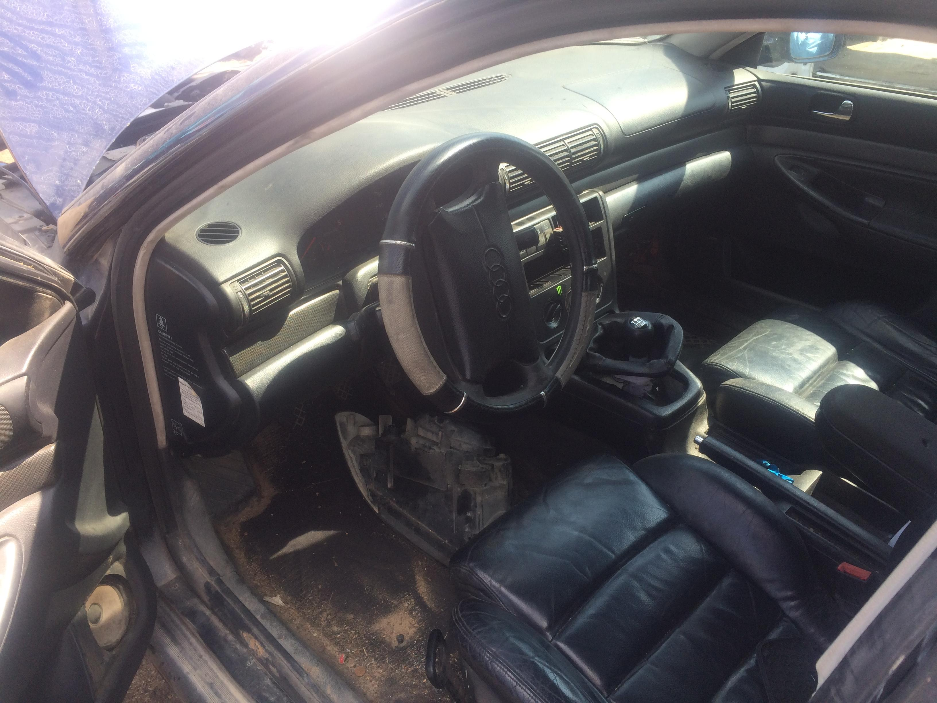 Naudotos automobilio dalys Audi A4 1996 1.9 Mechaninė Sedanas 4/5 d. Melyna 2018-8-02