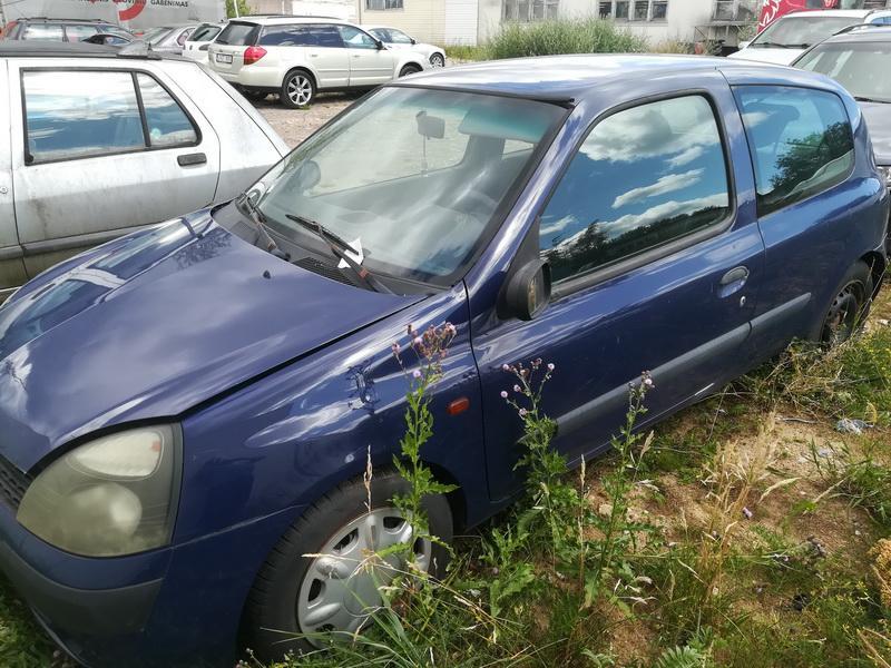 Naudotos automobiliu dallys Foto 4 Renault CLIO 2002 1.2 Mechaninė Hečbekas 2/3 d. Melyna 2019-7-03 A4603