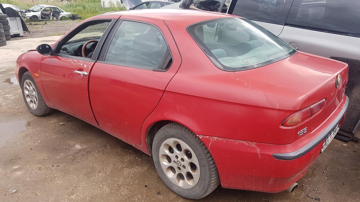 Naudotos automobilio dalys Alfa-Romeo 156 1998 2.0 Mechaninė Sedanas 4/5 d. Raudona 2017-6-13