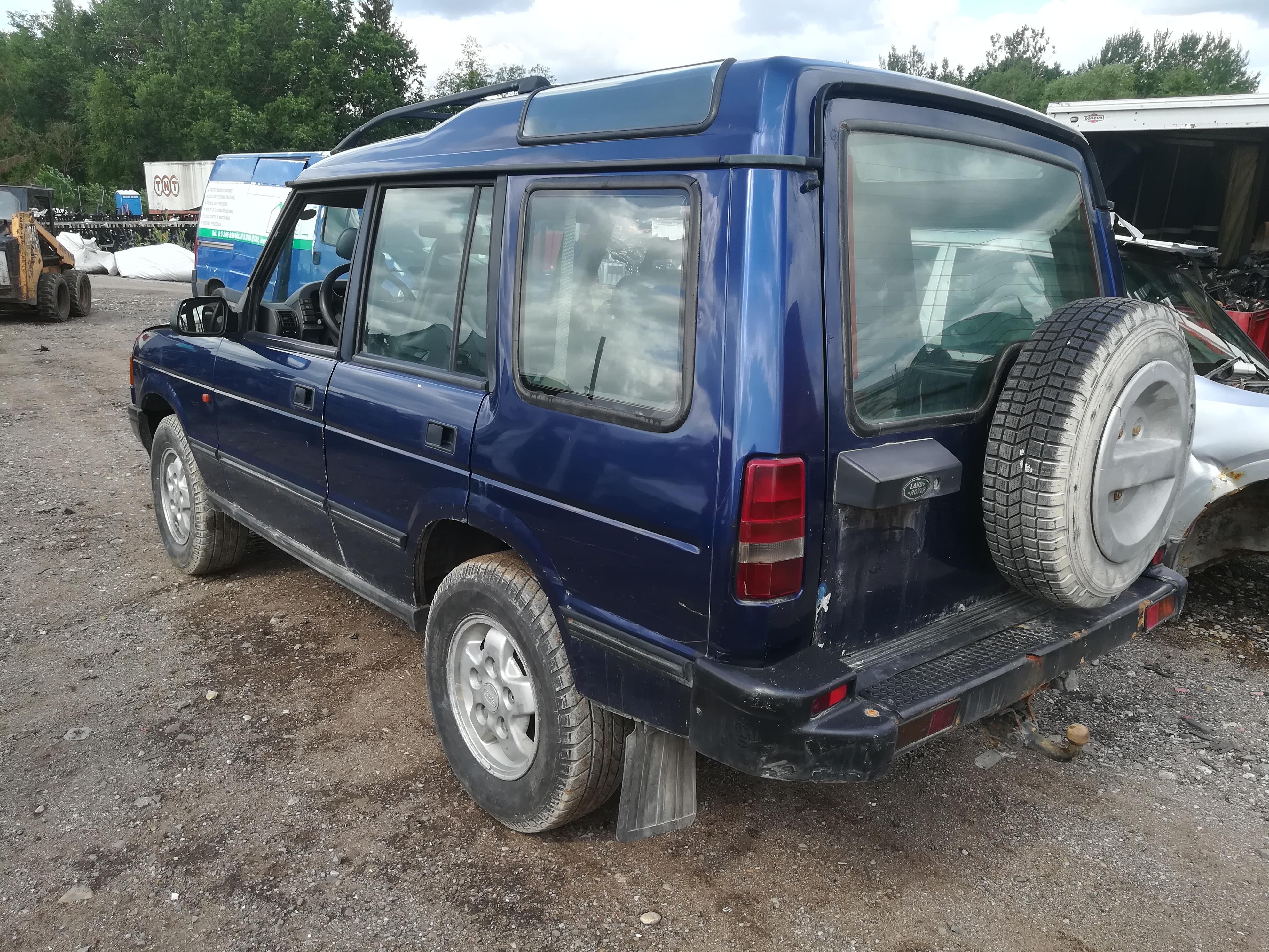 Naudotos automobiliu dallys Foto 5 Land-Rover DISCOVERY 1995 2.5 Mechaninė Visureigis 4/5 d. Melyna 2019-7-12 A4622